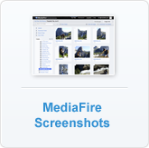 MediaFire Screenshots